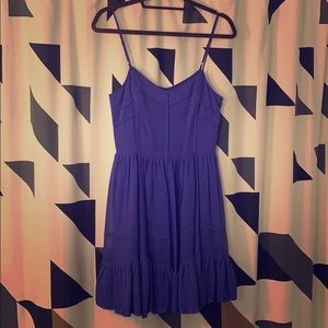 Juicy Couture purple summer dress